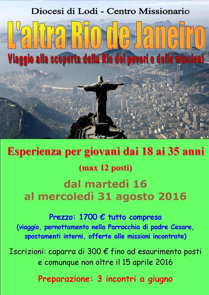 Rio 2016 locandina