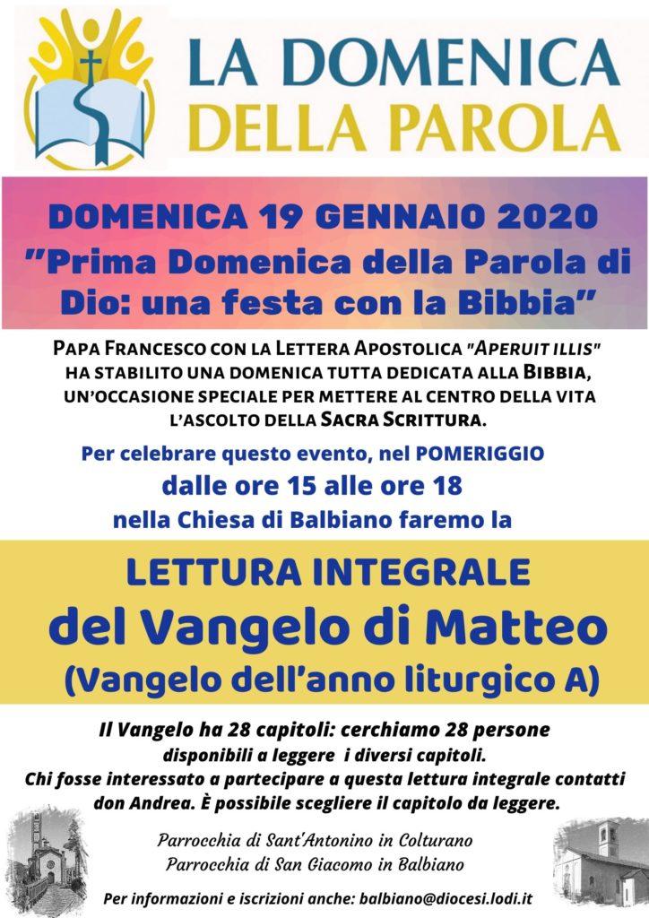 DomenicaDellaParola_locandinaA4