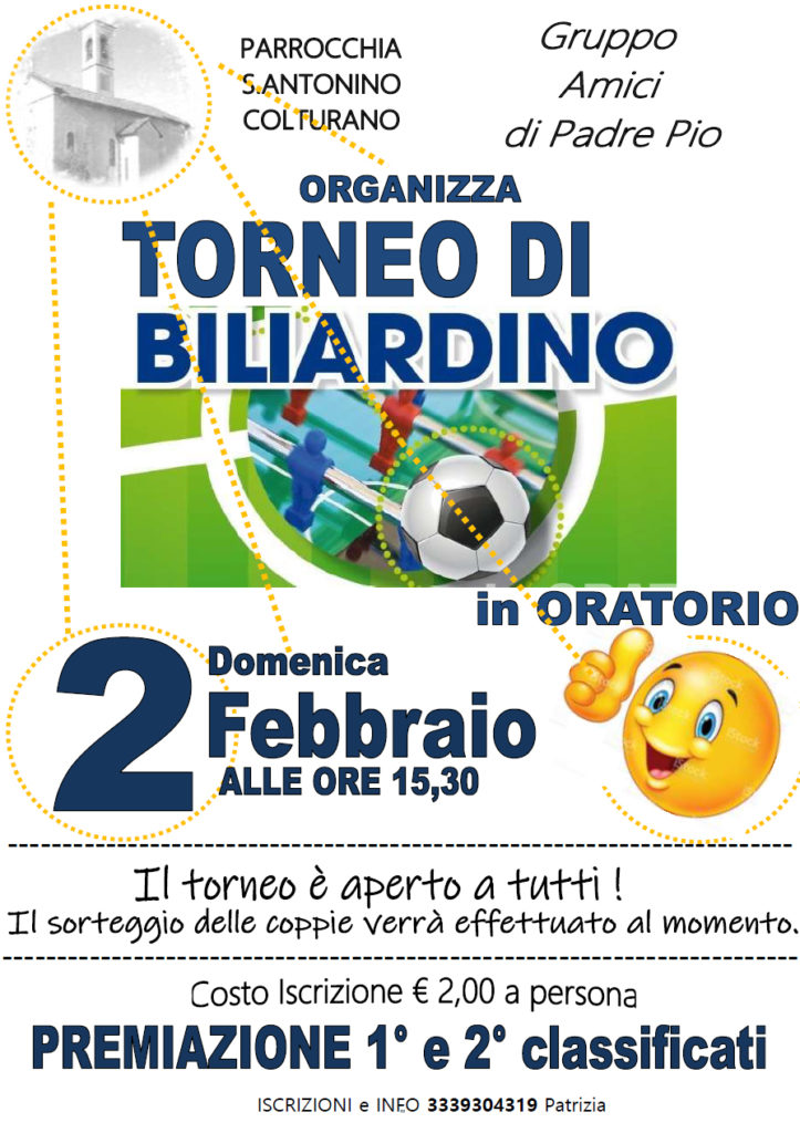 colturano_torneoBigliardino_gen2020